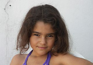 8 year old Portuguese girl