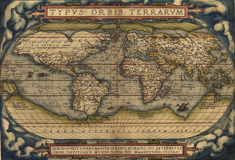 old map800px-OrteliusWorldMap1570