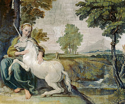unicorn DomenichinounicornPalFarnese